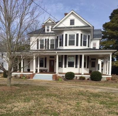 Northampton County Single Family Home Under Contract/Continue To Sho: 5369 Willow Oak Rd