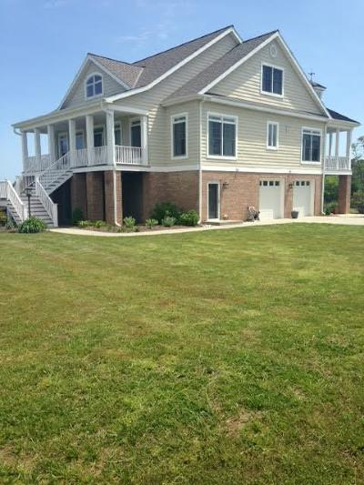 Accomack County, Northampton County Single Family Home For Sale: 29528 South Point