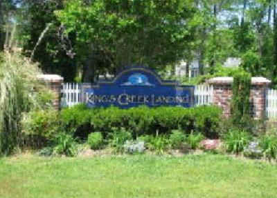 Kings Creek Landing Residential Lots & Land Under Contract/Continue To Sho: 16 Plum Tree Rd