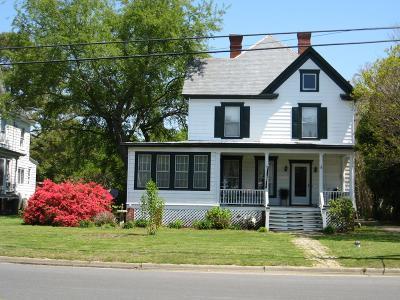 Onancock, Onley, Melfa, Wachapreague, Harborton, Painter, Keller, Pungoteague Single Family Home For Sale: 25625 East Main St.