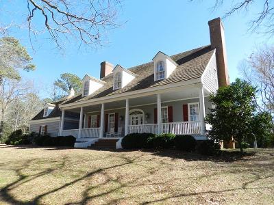 Accomack County, Northampton County Single Family Home For Sale: 13345 Natchez Ln