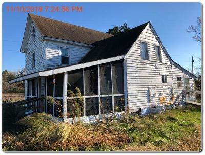 Northampton County, Accomack County Single Family Home Under Contract/Continue To Sho: 11074 Neal Parker Rd