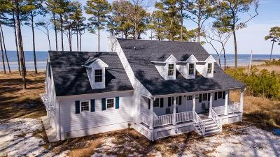 Accomack County, Northampton County Single Family Home For Sale: 4584 Peaceful Shores Dr