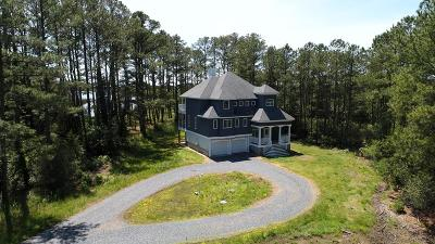 Northampton County, Accomack County Single Family Home For Sale: 12024 Hacksneck Rd