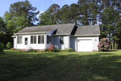 Onancock Single Family Home For Sale: 24460 Finney Dr
