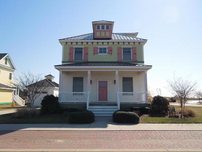 Accomack County, Northampton County Single Family Home For Sale: 529 Walbridge Bend