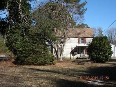 Accomack County Single Family Home For Sale: 20111 Quinby Bridge Rd