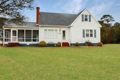 Chincoteague Single Family Home For Sale: 7258 McGee Lane