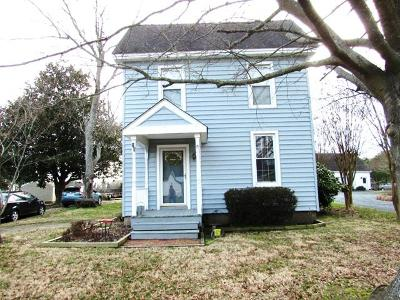 Wachapreague Single Family Home For Sale: 38 Main St