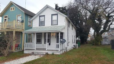 Cape Charles Single Family Home For Sale: 521 Mason Ave