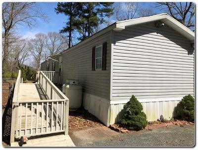 Accomack County Single Family Home Under Contract/Continue To Sho: 21206 Greenbush Rd
