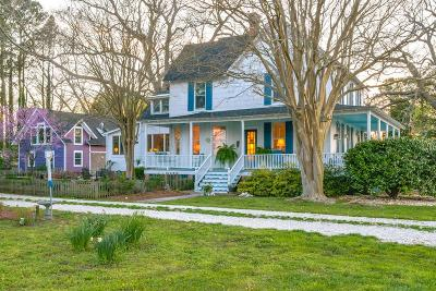 Accomack County, Northampton County Single Family Home For Sale: 14262 Shore Dr
