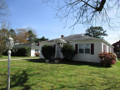 Accomack County Single Family Home For Sale: 24332 Gertrude St