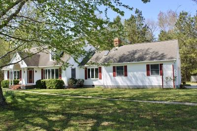Northampton County, Accomack County Single Family Home For Sale: 9355 Milton Ames Dr