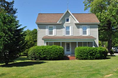 Cape Charles Single Family Home Under Contract/Continue To Sho: 4207 Sunnyside Rd