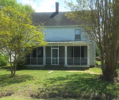 Accomack County Single Family Home Under Contract/Continue To Sho: 28129 Harborton Rd