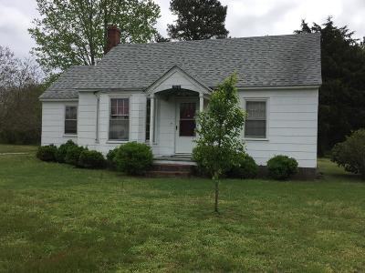 Northampton County, Accomack County Single Family Home For Sale: 11179 Parallel Road