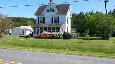 Onancock Single Family Home For Sale: 15748 Cashville Rd