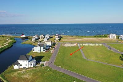 Cape Charles, Capeville, Kiptopeke, Cheriton Residential Lots & Land For Sale: 510 Walbridge Bend