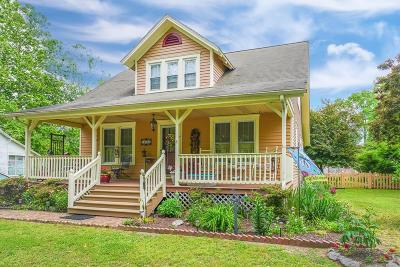 Accomack County Single Family Home Under Contract/Continue To Sho: 24095 Bennett St