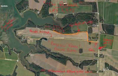 Cape Charles, Capeville, Kiptopeke, Cheriton Residential Lots & Land For Sale: North Plantation Lane