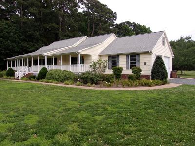 Accomack County, Northampton County Single Family Home For Sale: 14314 East Field Dr