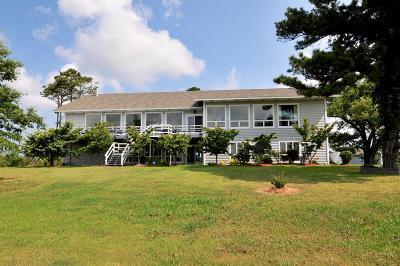 Accomack County, Northampton County Single Family Home For Sale: 30740 Back Creek Rd