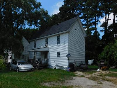 Northampton County, Accomack County Single Family Home For Sale: 27343 Nelsonia Rd