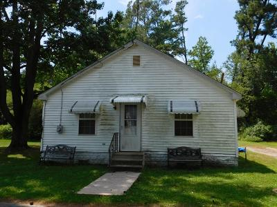 Northampton County, Accomack County Single Family Home For Sale: 15458 Davis Rd