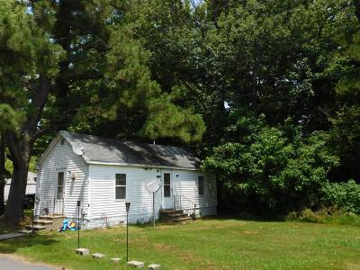 Northampton County, Accomack County Single Family Home For Sale: 15450 Davis Rd