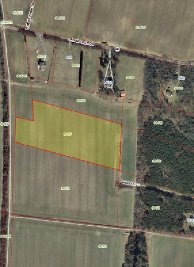 Cape Charles, Capeville, Kiptopeke, Cheriton Residential Lots & Land For Sale: Parcel F Woodis Court