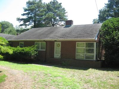 Northampton County Single Family Home Under Contract/Continue To Sho: 9608 Rogers Dr