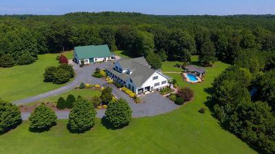 Accomack County, Northampton County Single Family Home For Sale: 6506 Occohannock Neck Rd