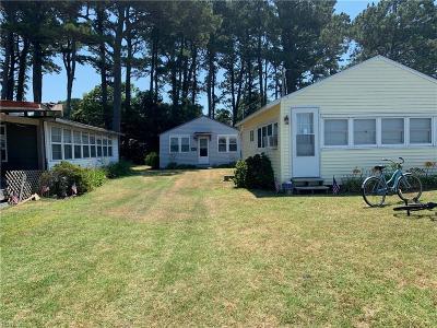 Northampton County Single Family Home For Sale: 7213 Kellam Dr