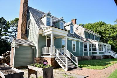 Accomack County, Northampton County Single Family Home For Sale: 9041 Wellington Neck Rd