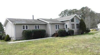 Accomack County, Northampton County Single Family Home Under Contract/Continue To Sho: 25408 Henrys Point Ln