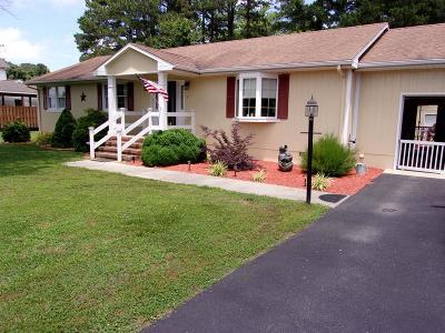 Accomack County, Northampton County Single Family Home For Sale: 5 Frances St