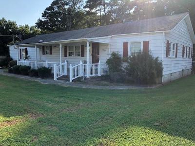 Accomack County, Northampton County Single Family Home For Sale: 15202 Hinman St