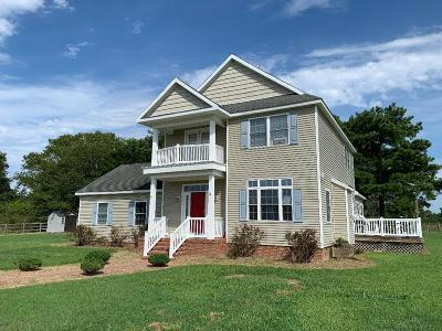 Accomack County, Northampton County Single Family Home Under Contract/Continue To Sho: 17588 Mc Cotter Lane