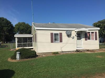 Accomack County, Northampton County Single Family Home For Sale: 20205 Mapp St