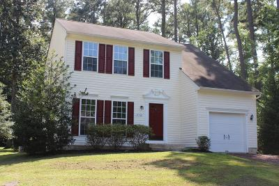Captains Cove Single Family Home For Sale: 37312 Davey Jones Blvd