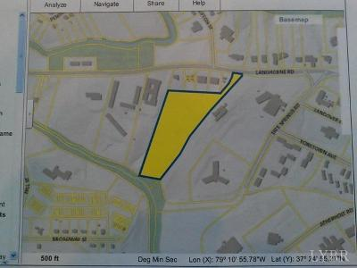 Lynchburg County Residential Lots & Land For Sale: 2121 Langhorne Road