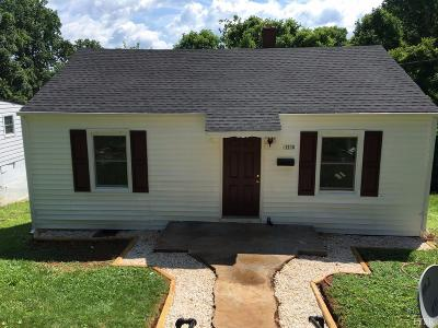 Lynchburg County Single Family Home For Sale: 1218 Shirley Road