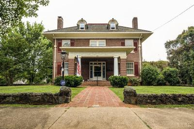 Lynchburg Single Family Home For Sale: 2101 Rivermont Avenue