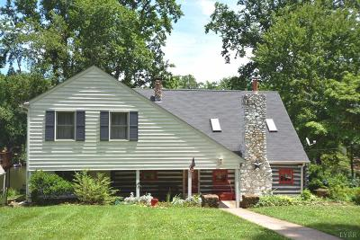Campbell County Single Family Home For Sale: 1716 Timberlake Drive