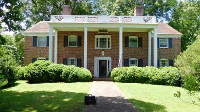 Lynchburg Single Family Home Contingent/Show: 2820 Trents Ferry Road