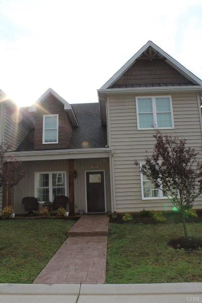 Lynchburg VA Condo/Townhouse For Sale: $239,900