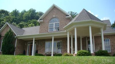 Goode Single Family Home For Sale: 1308 Blessed Mountain Road