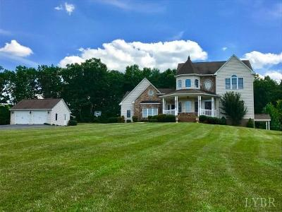 Single Family Home For Sale: 1516 Police Tower Road