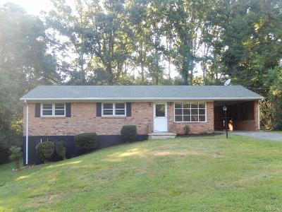 Forest VA Single Family Home For Sale: $159,000